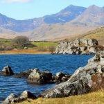 Mount Snowdon from Llyn Llynnau Lake