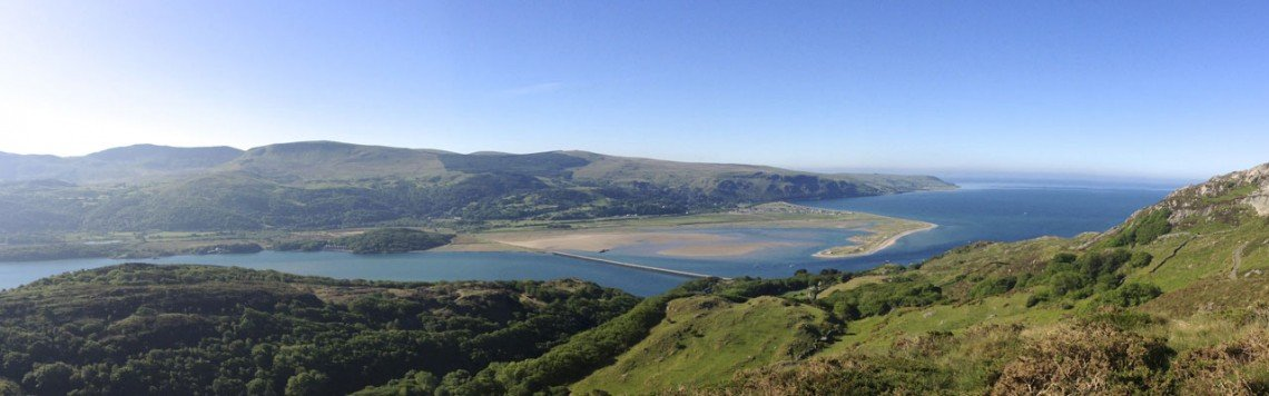 The Mawddach Estuary from the Hills Above Barmouth