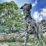 The Sculpture of Gelert the Dog at Beddgelert