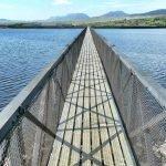 The 350m Footbridge Across Trawsfynydd Lake